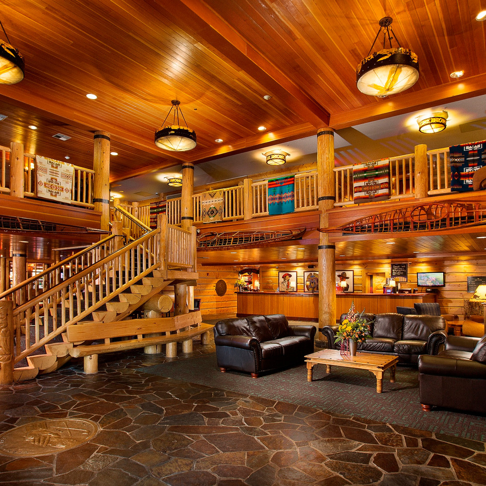 Heathman Lodge Lobby