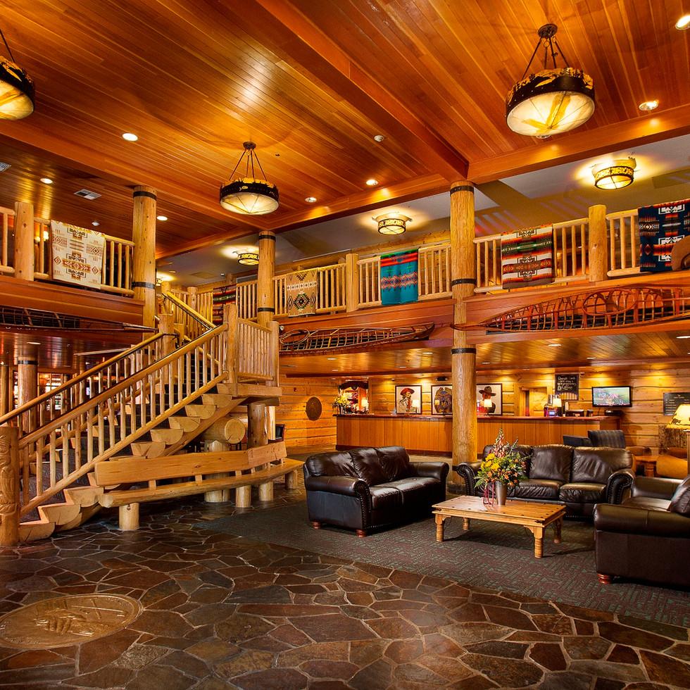 Heathman Lodge Lobby
