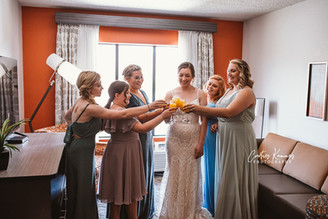Bridal Party Cheers