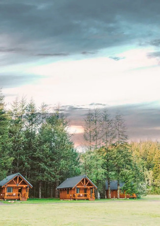 Dusk at Wind Mountain Ranch