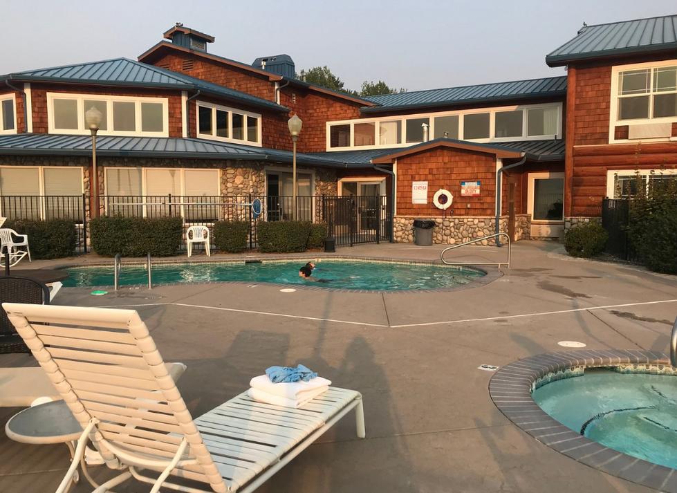 Pool at River Lodge
