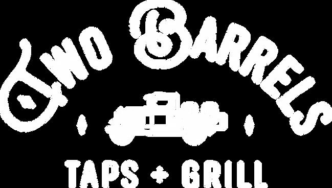 Two Barrels Taps + Grill logo