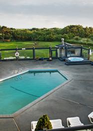The Grey Gull pool area