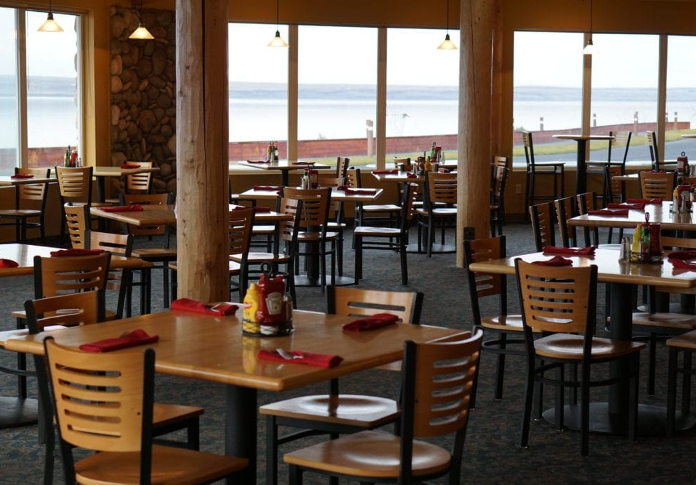 The Grill dining room