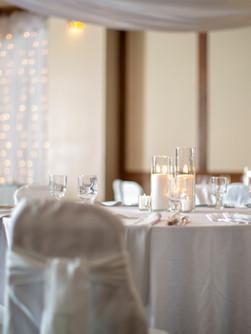 ballroom wedding recpetion set up