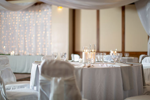 indoor wedding reception at Hells Canyon Grand Hotel