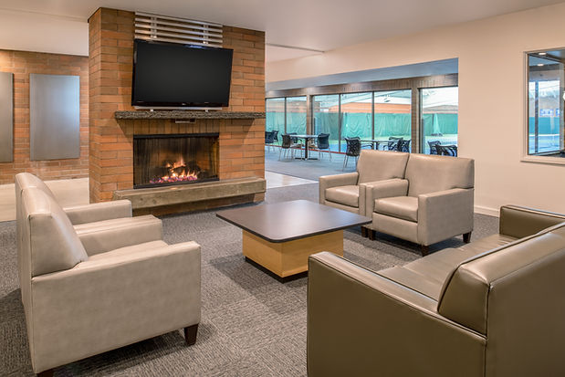 Mountain Park Common Area with fireplace