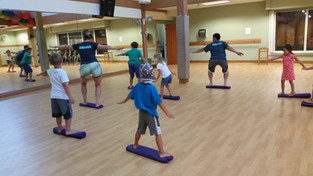 youth fitness class