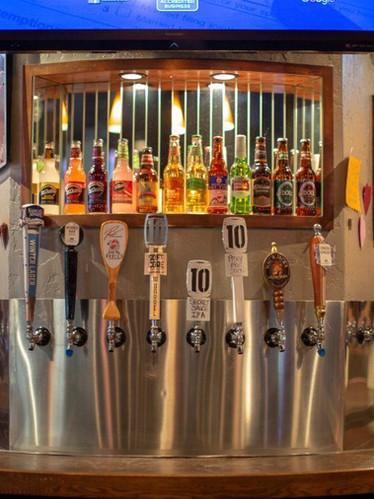 beer taps-at MJB