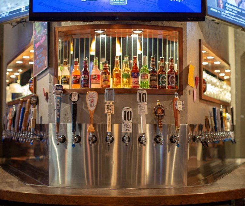 beer taps-at MJB