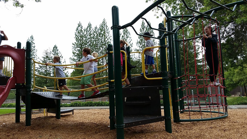 Outdoor Playground area at West Hills