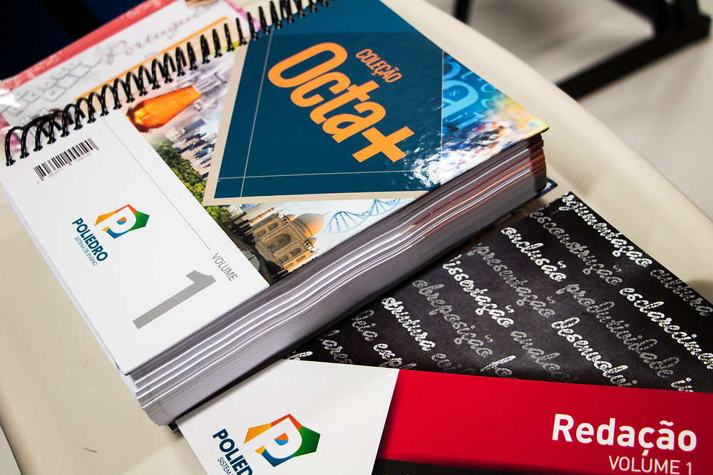 Apostila volume 1 de 6 - Entregue gratuitamente para os alunos participantes.