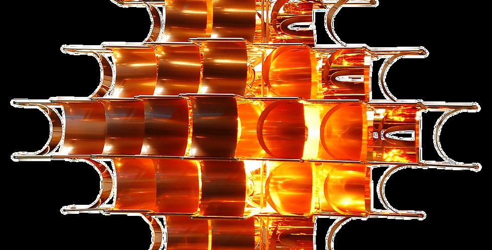 Suspension CASSIOPEE cuivre