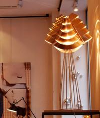 Lampe AURIGA saumon