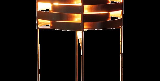 Lampe GANYMEDE saumon