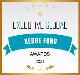 Hedge Fund Awards Logo (Square, Trophy).