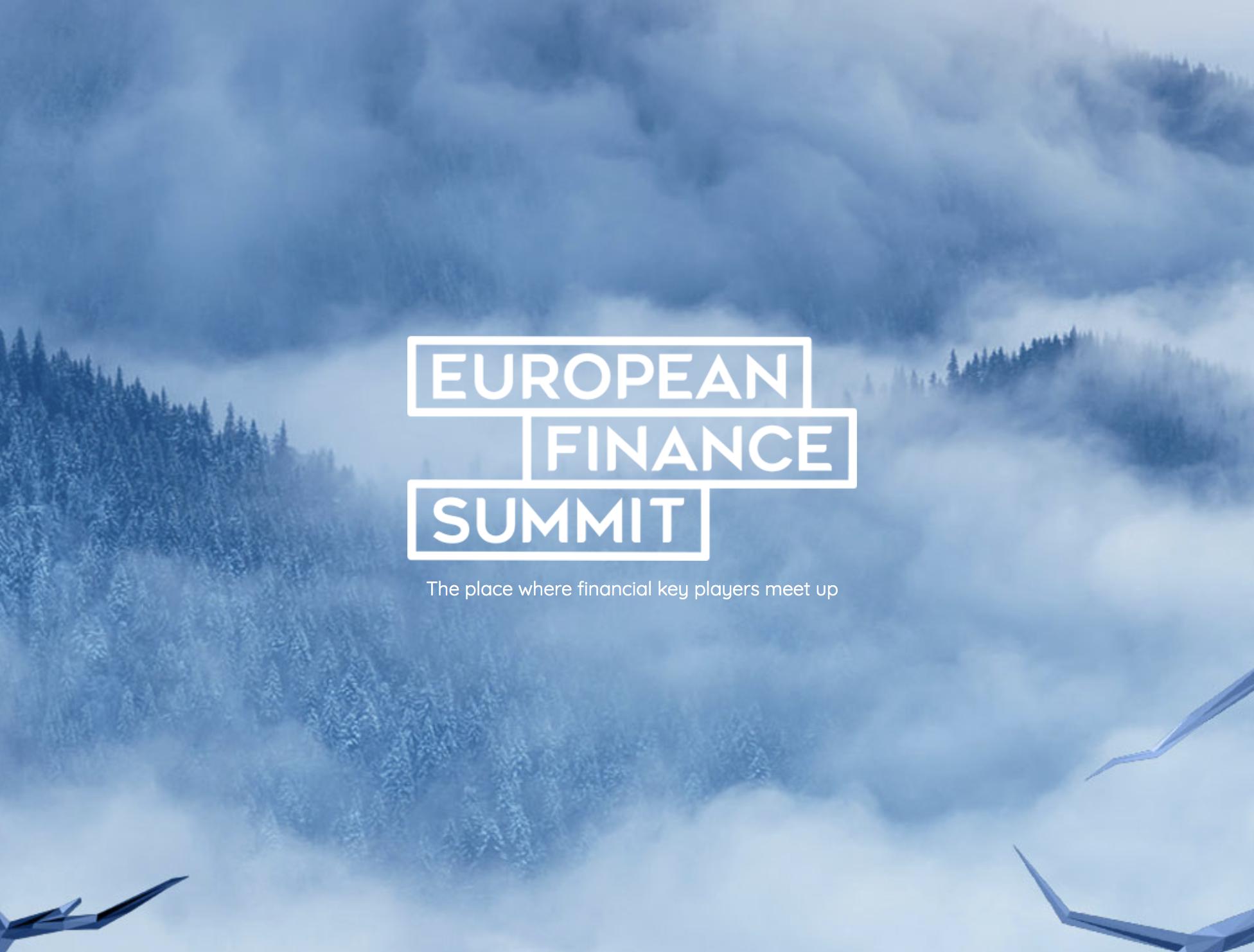 European Finance Summit 2020