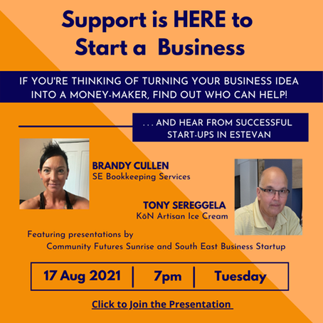 Support is here to help you start a small business!