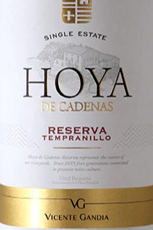 Rode Wijn: Hoya de Cadenas Reserva