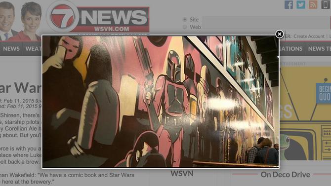 Star Wars Brew article