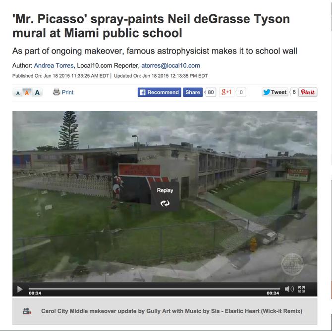 Miami school gets a facelift