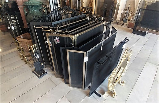 fireplace screens at The Fireplace Shop Ltd.