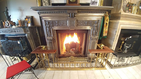 Renaissance Rumford 1000 wood burning fireplace