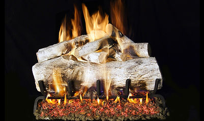 RealFyre Designer Mountain Birch Gas Logs