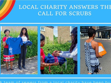 LOCAL CHARITY ANSWERS THE CALL FOR SCRUBS