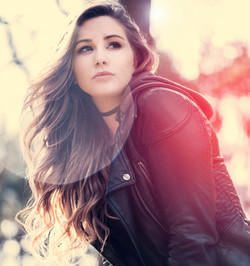 LEather jacket beauty editorial Geoff Nichols Photography