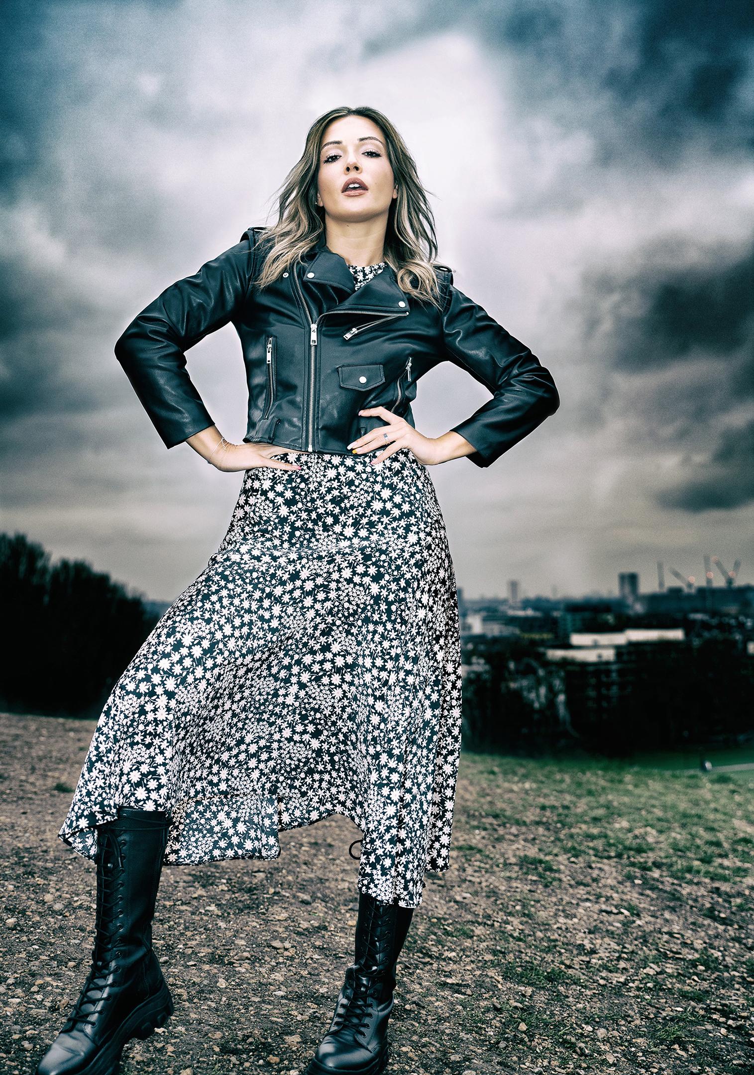 Fierce look fashion editorial Geoff Nichols Photography