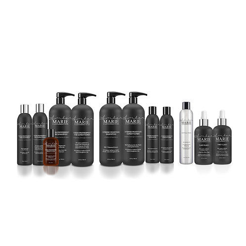 Amber Marie Cleansing and Styling Collection