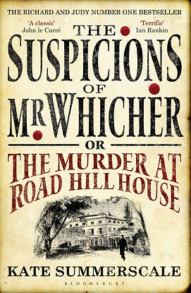 The Supsicions of Mr Whicher by Kate Summerscale