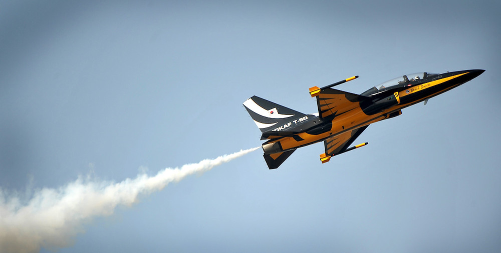 Jet Fighter at Air Show
