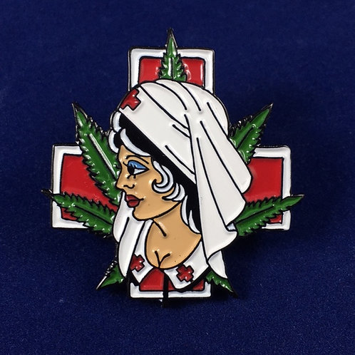 Limited Edition Nurse Mary J Enamel Pin