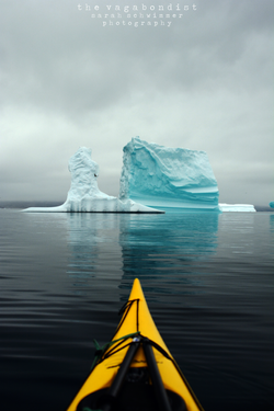 A Kayak and an Iceberg