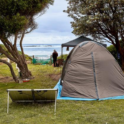 marengo - accommodation - unpowered site