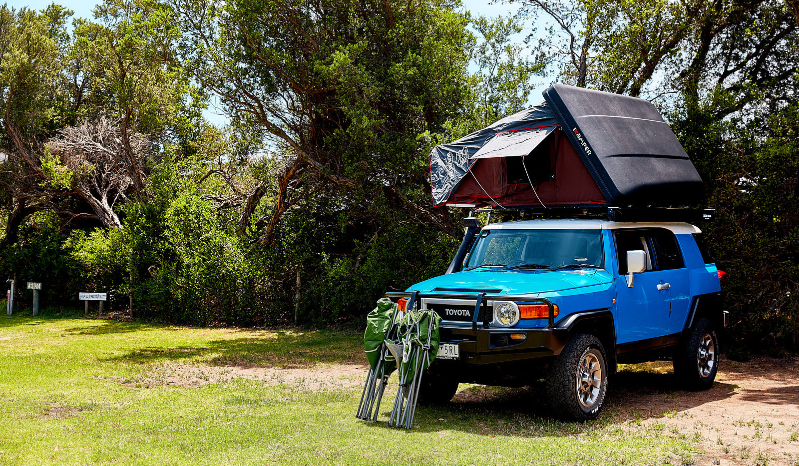 Camping, Powered & Unpowered