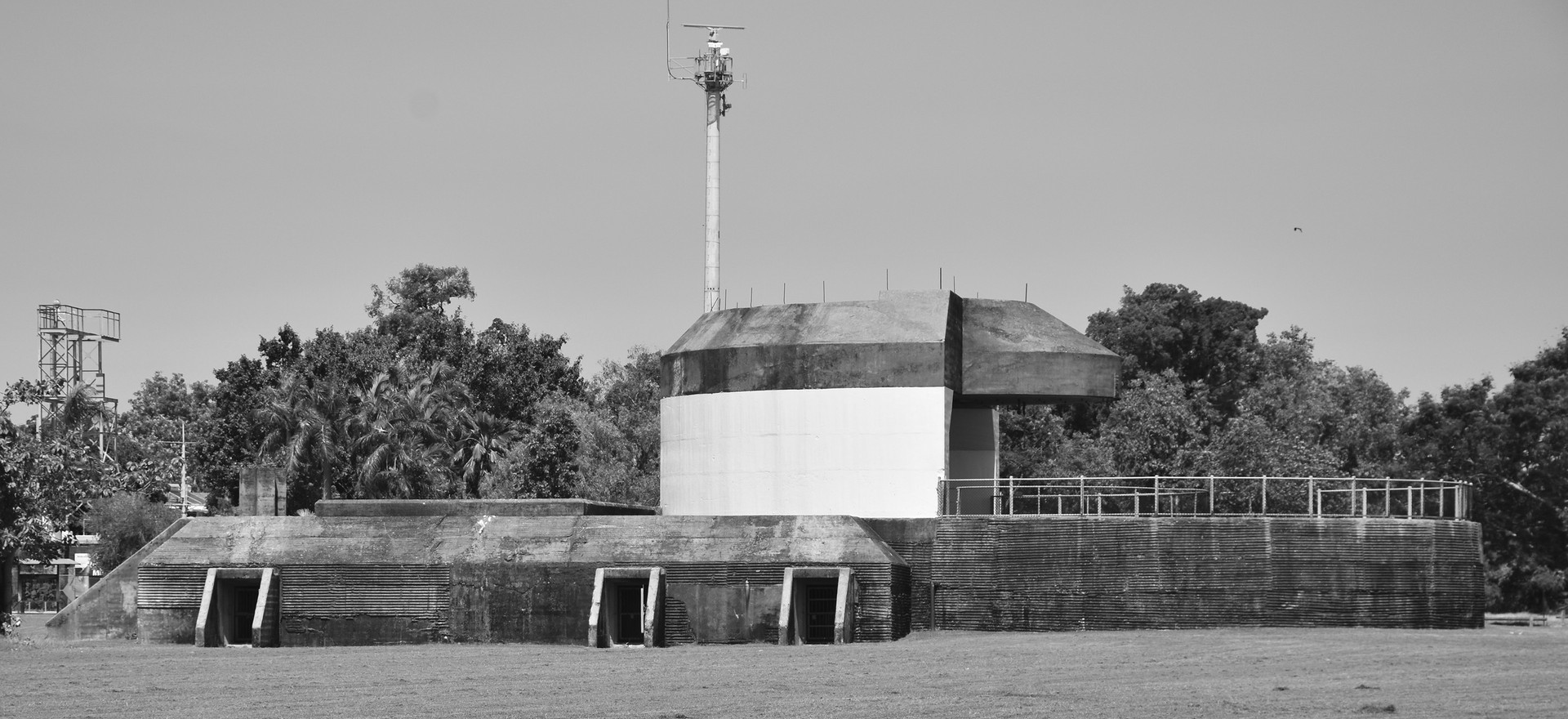 WW II 9.2-inch gun emplacement, East Point.