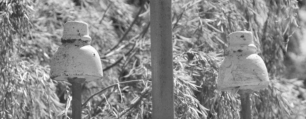 Original Overland Telegraph pole, Darwin CBD.
