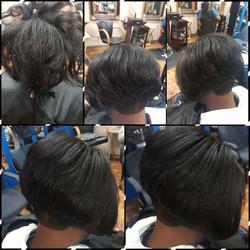 softens the hair