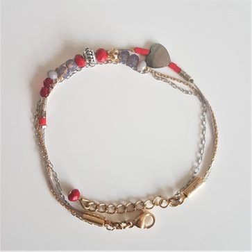 Bracelet multi rangs