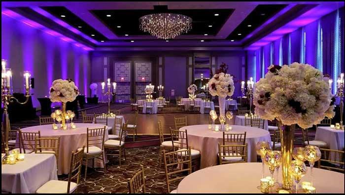 purple-uplighting-centerpiece-reception