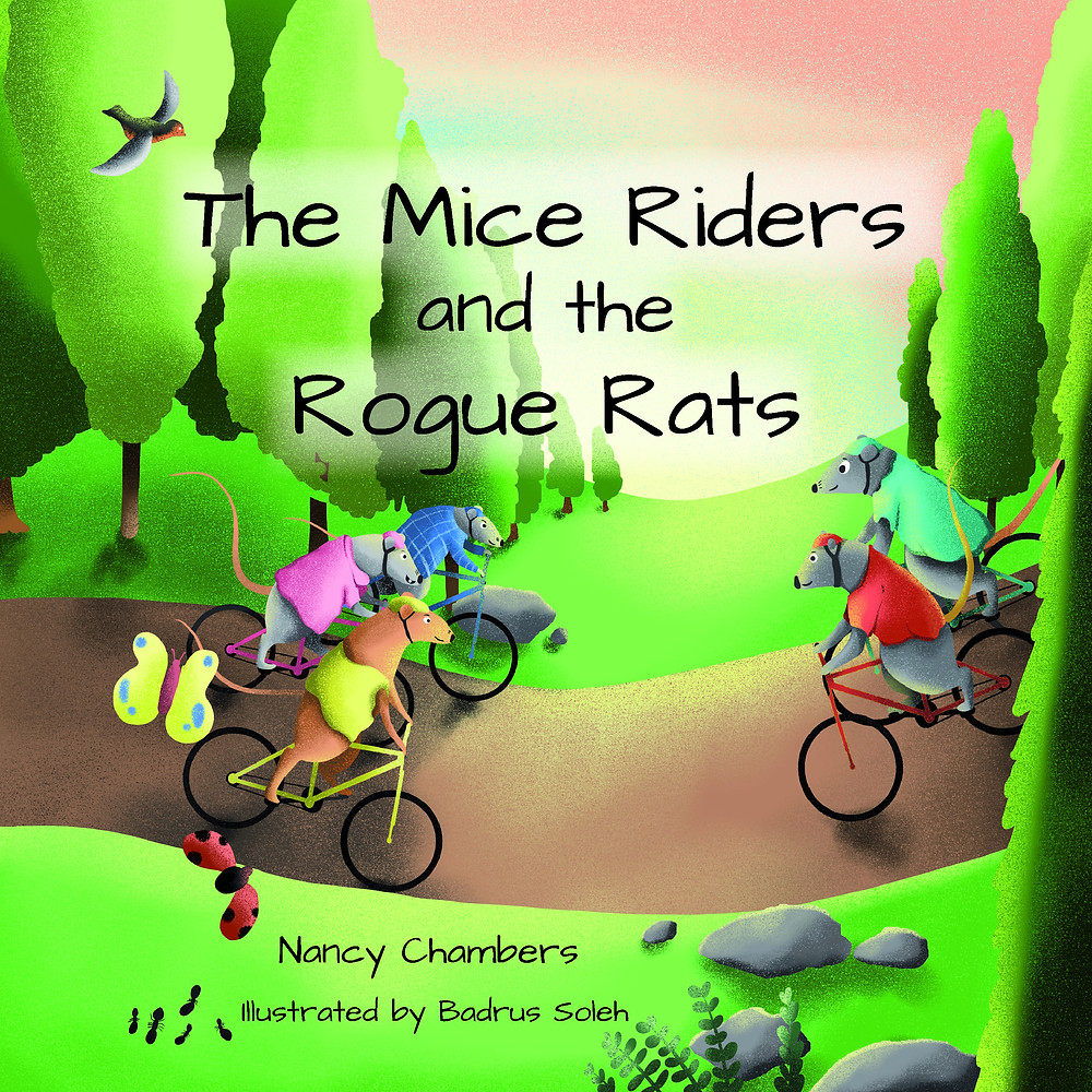 The Mice Riders and the Rogue Rats Children's Book - A mountain biking adventure for children.