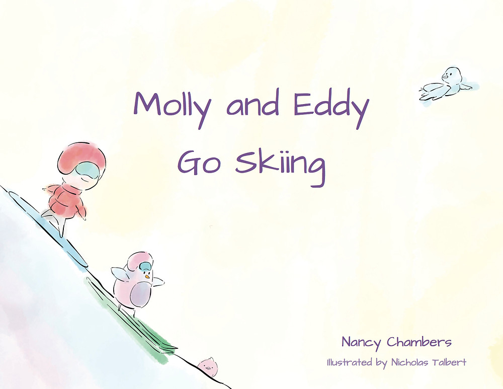 Molly and Eddy Go Skiing Children's Picture Book - a Scottish Skiing and Snowboarding adventure for Children.