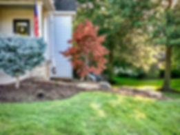 Landscape design for a residential property