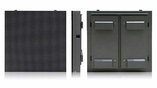 Standard Iron Cabinet with back doors an