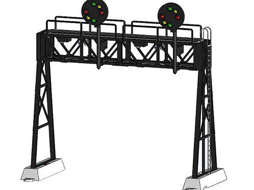 DZ-1090-HO-80-2 Signal Bridge | HO scale