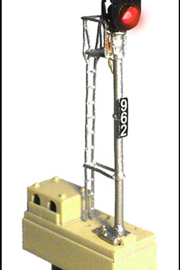 DZ-1050-HO 3-Color Trackside Signal | HO