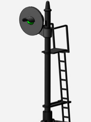 DZ-1065-2 Searchlight Signal | O-gauge